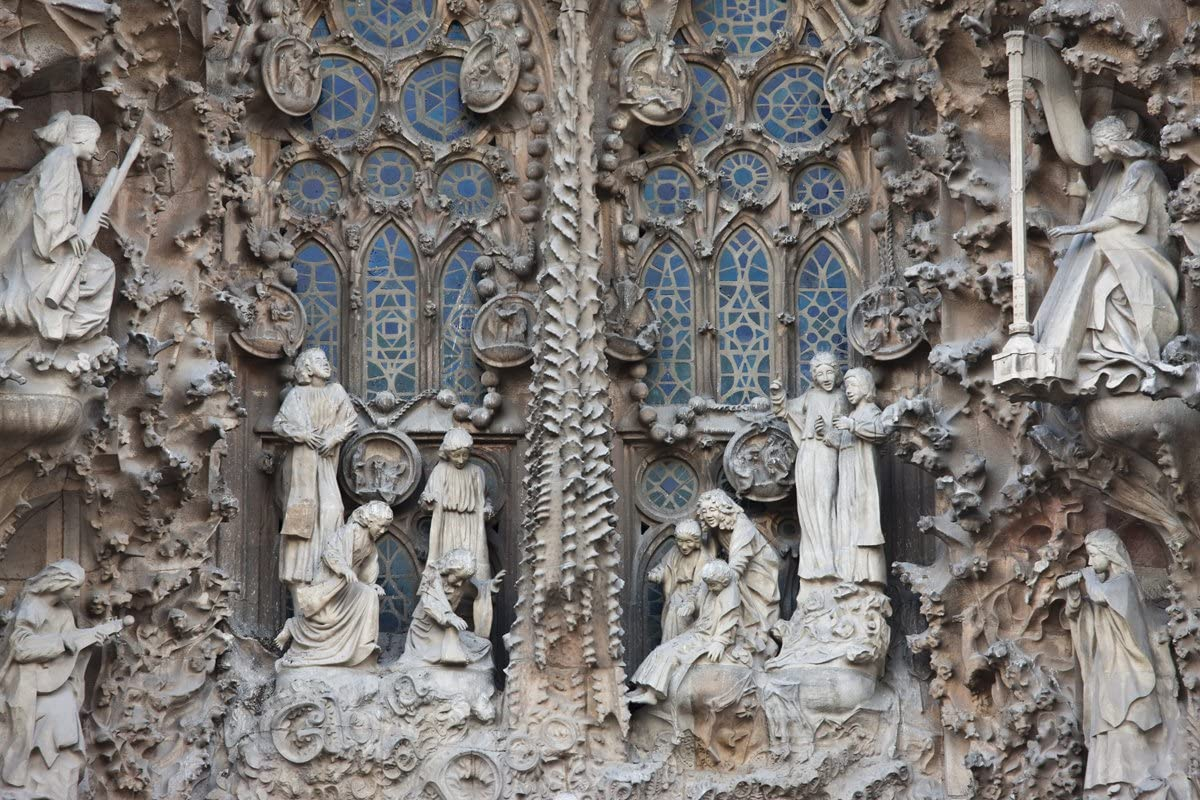 Image result for nativity facade sagrada familia barcelona