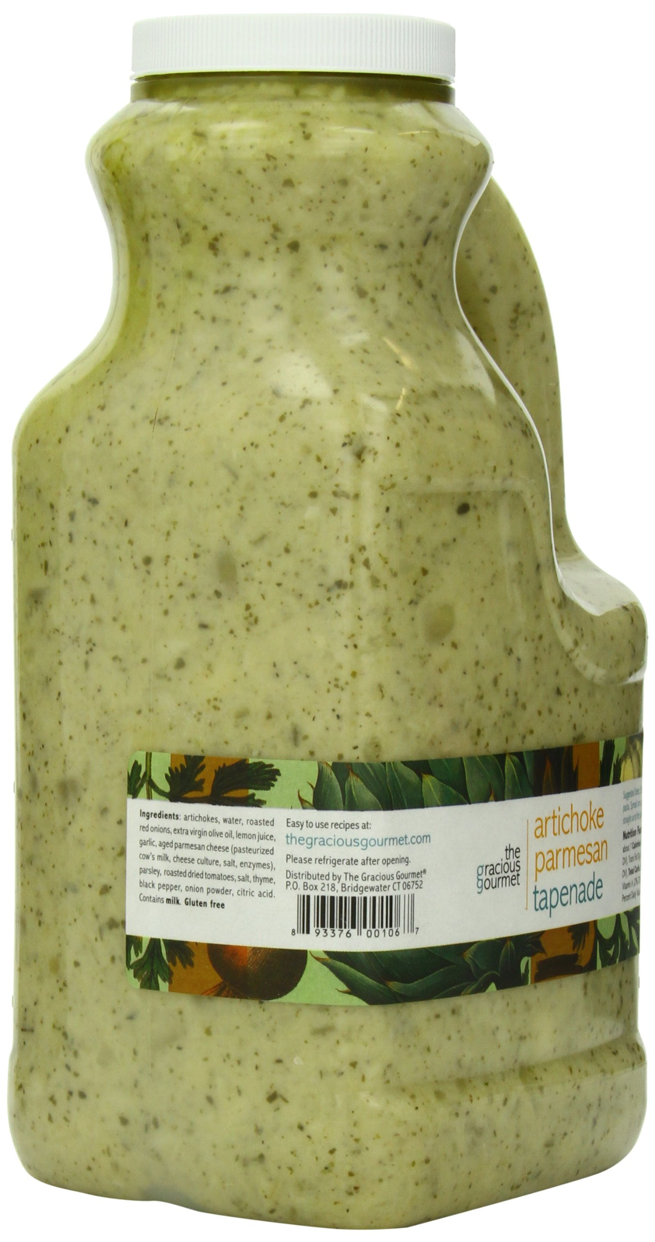 The Gracious Gourmet Artichoke Parmesan Tapenade, 76-Ounce by The Gracious Gourmet (Image #5)