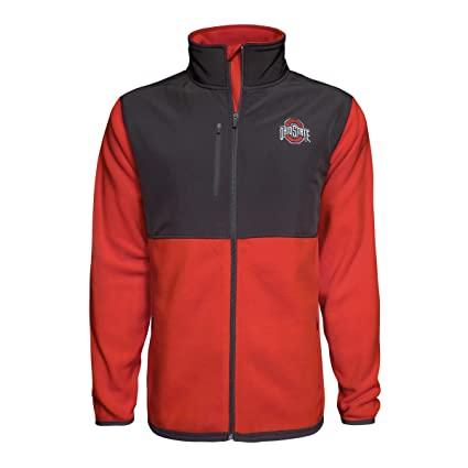 cheap for discount 9f13d 1ae06 J. America Ohio State Buckeyes Mens Rainer Jacket (Small)