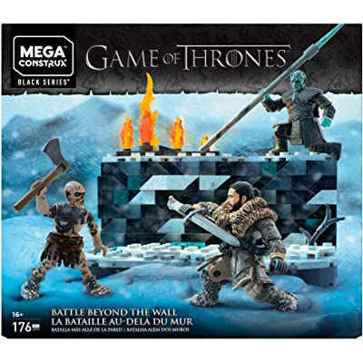 Mega Game of Thrones: White Walker Battle Construx: Toys & Games