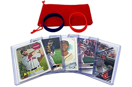 Amazoncom Dustin Pedroia Baseball Cards 5 Assorted