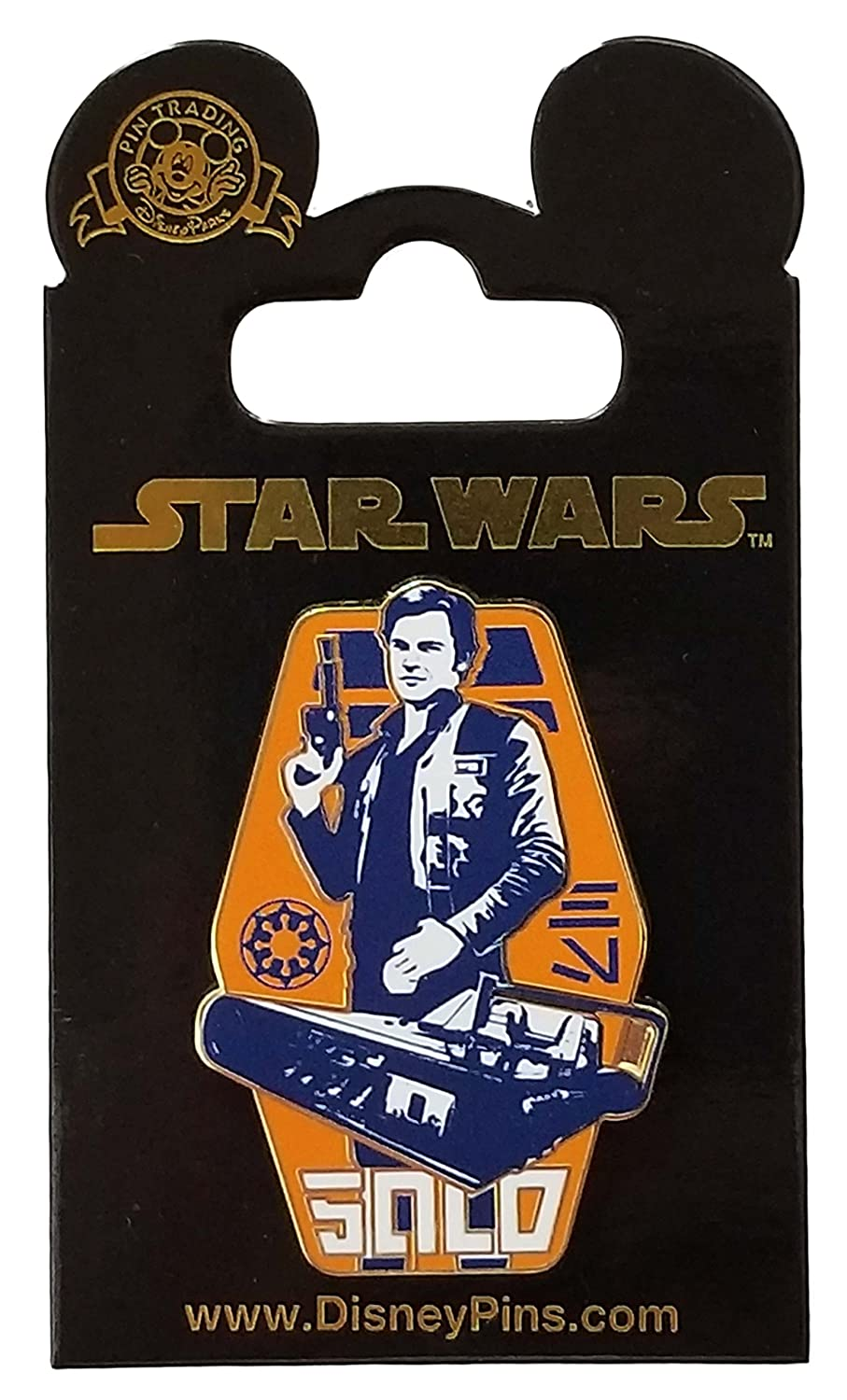 Disney Pin - A Star Wars Story - Han Solo