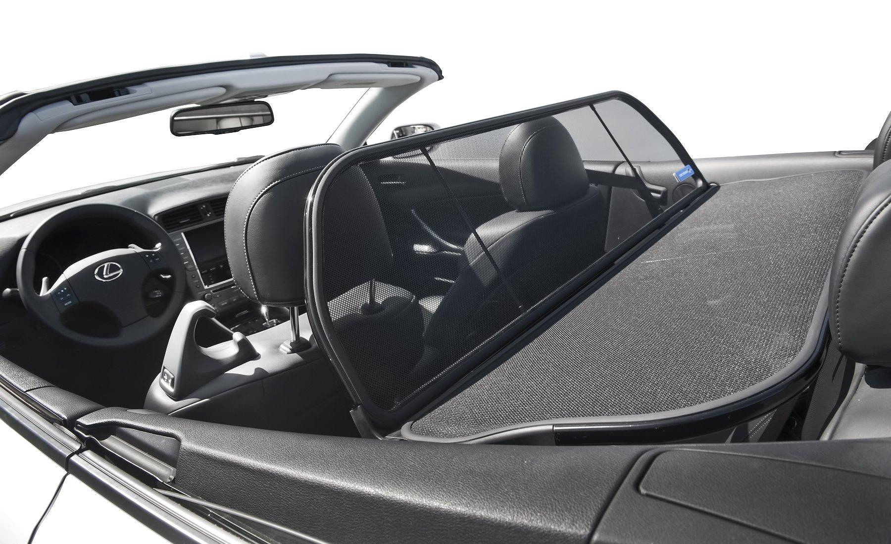 Lexus IS 250 or 350 Love The Drive™ Wind Deflector. Wind Deflectors are as known as Windscreen, Windstop, Wind Blocker & Wind Jammer