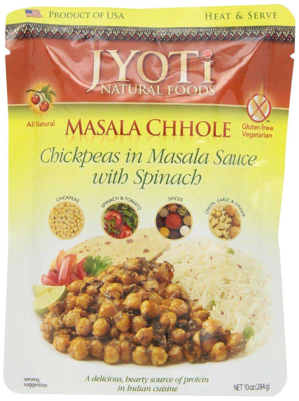 Jyoti Masala Chhole, 10 Ounce (Pack of 6)