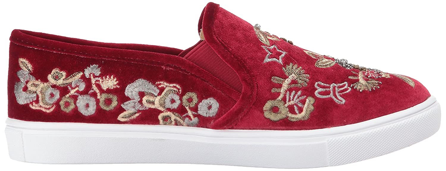 Blue B071ZM56C1 by Betsey Johnson Women's Sb-Ellie Fashion Sneaker B071ZM56C1 Blue 5 M US|Burgundy Velvet 68dacf