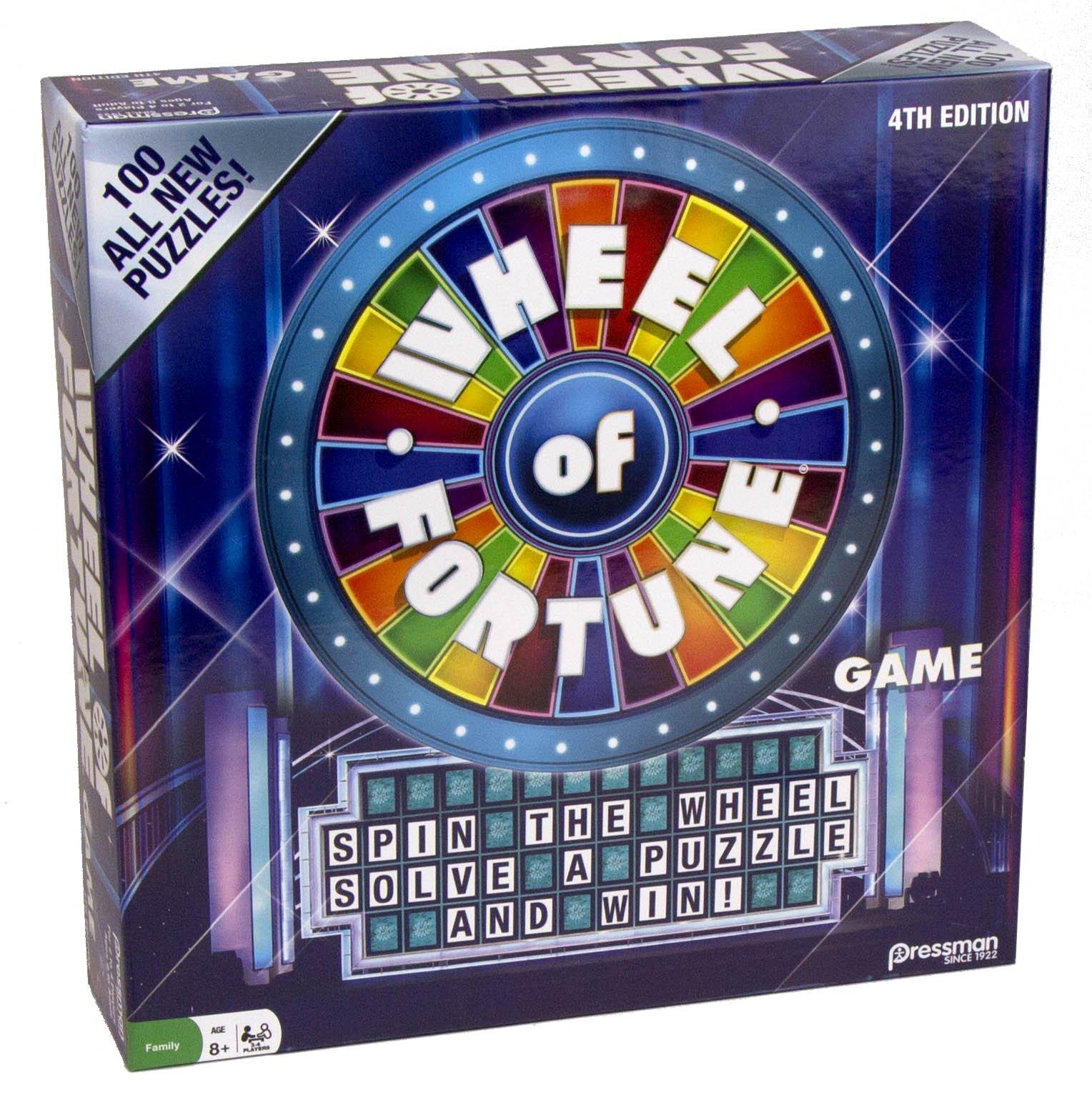 Pressman 4th Edition Wheel Of Fortune