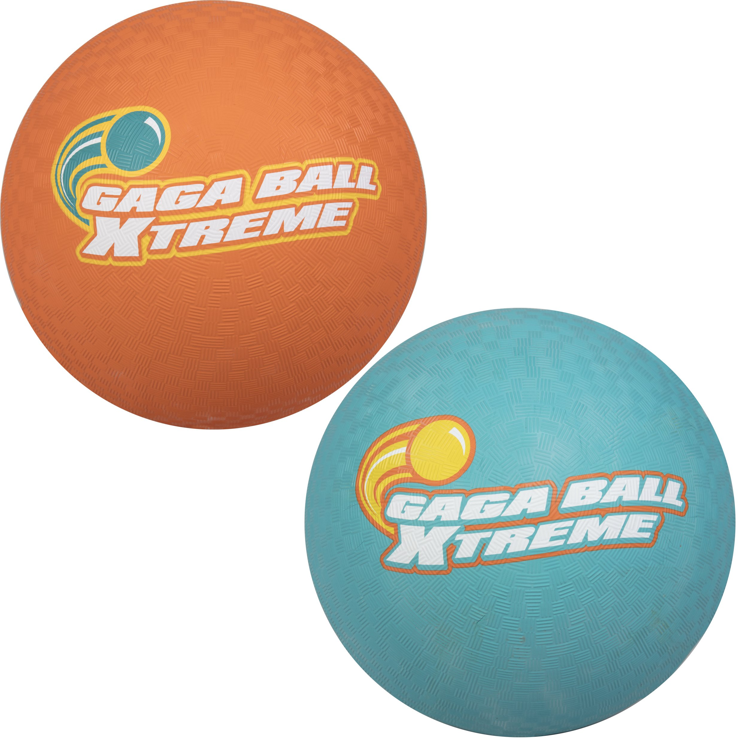 SCS Direct Gaga Playground Balls 2pk (8.5 inches) - Durable Rubber, Lightweight and Great for Dodgeball, Kickball, Gagaball Official Play by SCS Direct