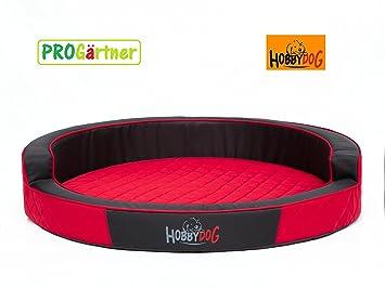 Cama para perros Ringo XXL Diámetro 98 cm rojo, perros sofá, codura-poliamida,: Amazon.es: Productos para mascotas