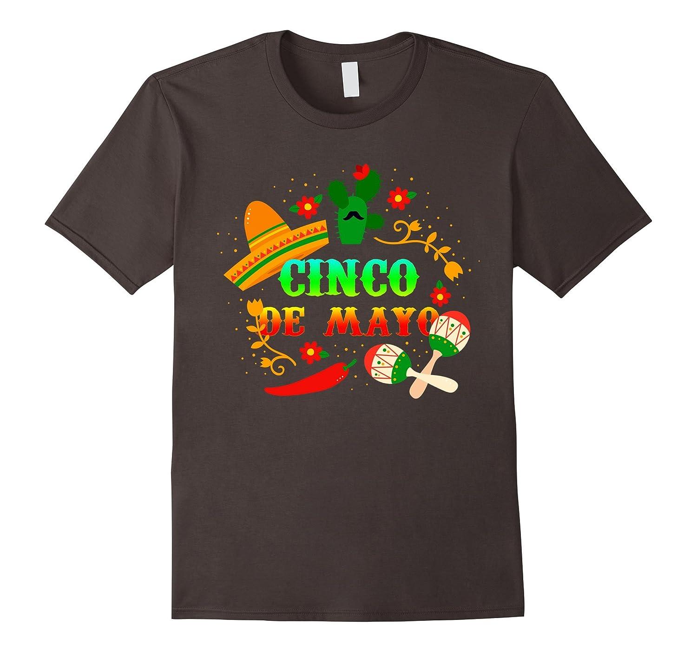 Cinco De Mayo t-Shirt Cinco De Mayo Costume Shirt-RT