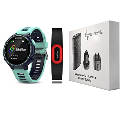 Garmin Forerunner 735XT GPS Running Watch with Multisport Features and  Wrist-Based Heart Rate and 432a708d2bbe