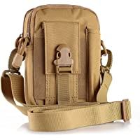 Unigear Tactical Molle Edc 1000D Multipurpose Utility Gadget Belt Waist Bag with Cell Phone Holder and Shoulder Strap