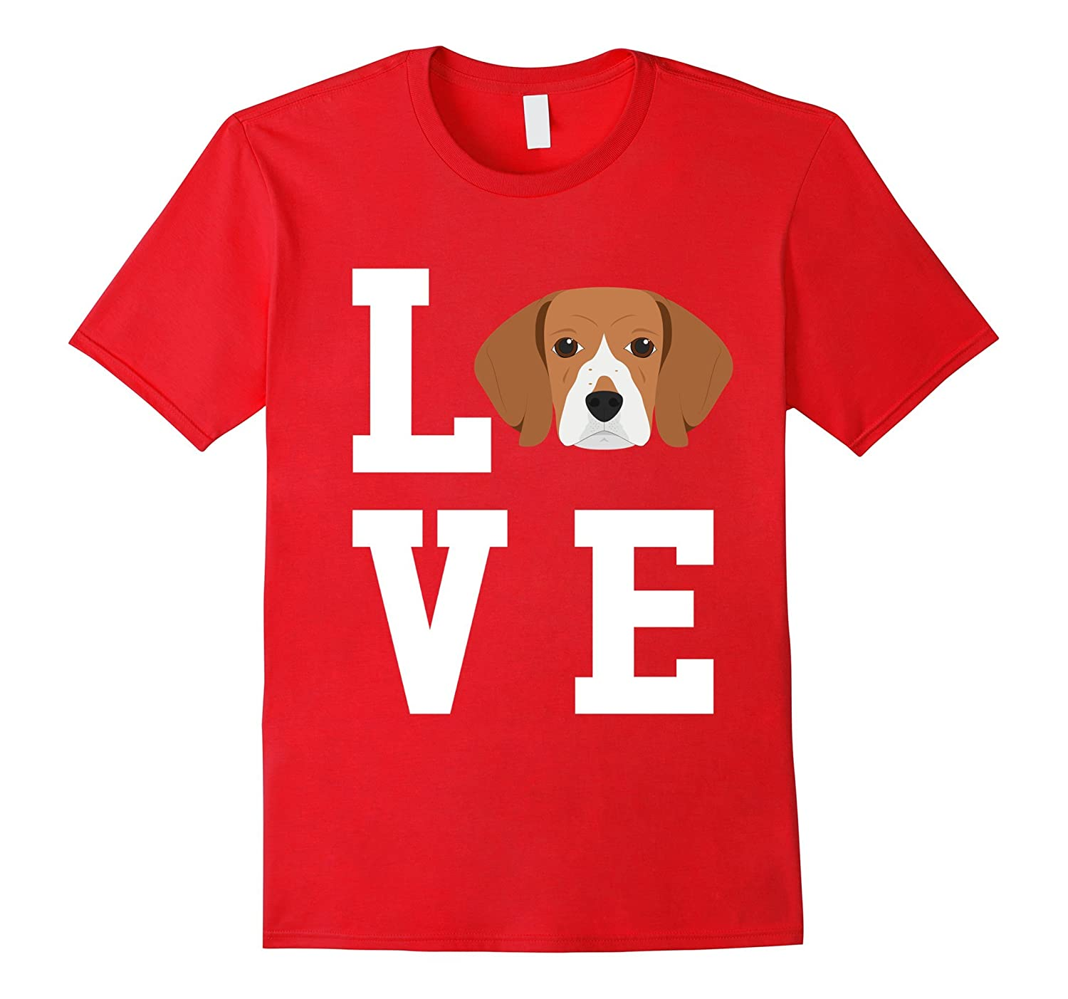 I Love My Dog Beagle Animal Lover T-Shirt-ANZ