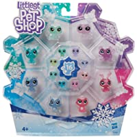 Littlest Pet Shop E5480EU5 LPS Frosted Wonderland PET Pack, flerfärgad