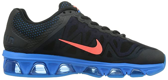 pretty nice 4fad0 d5671 Nike Air Max Tailwind 7 Men s Running Shoe Black   Hot Lava   Pht Blue   Gm  Royal 7.5 D(M) US  Buy Online at Low Prices in India - Amazon.in