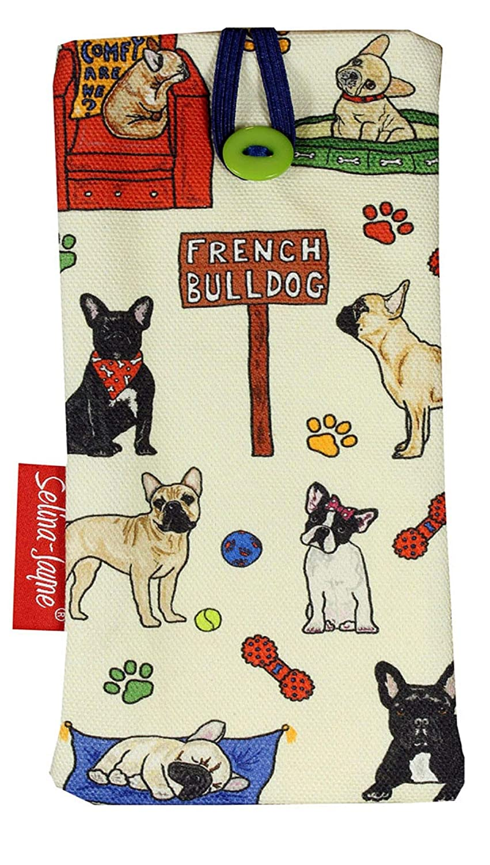 Selina-Jayne French Bulldog Limited Edition Designer Soft Glasses Case