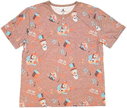1e10036d Disney Country Bear Jamboree Jam On, Country Bears Henley Shirt Mens ...