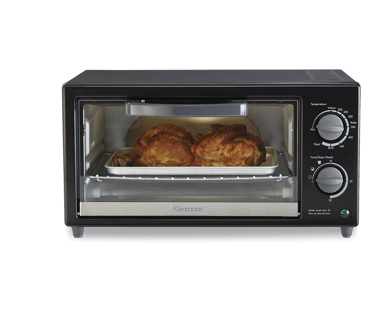 Kenmore 88914 4-Slice Toaster Oven in Black