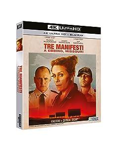 Tre Manifesti A Ebbing Missouri (4K Ultra Hd+Blu-Ray) [Italia] [Blu-ray]