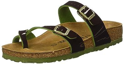 334ccb14babd Birkenstock Women s Mayari Birko-Flor Toe Post Sandals  Amazon.co.uk ...