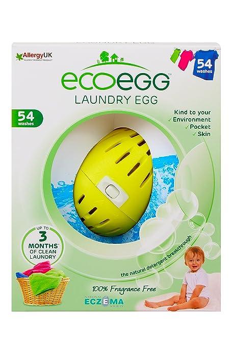 27 opinioni per Ecoegg Laundry Eggs- Detersivo per lavatrice (54 lavaggi), senza profumi