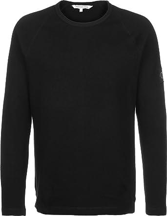 Calvin Klein Waffle Monogram Sleeve Slim L/S Camisa para Hombre: Amazon.es: Ropa y accesorios
