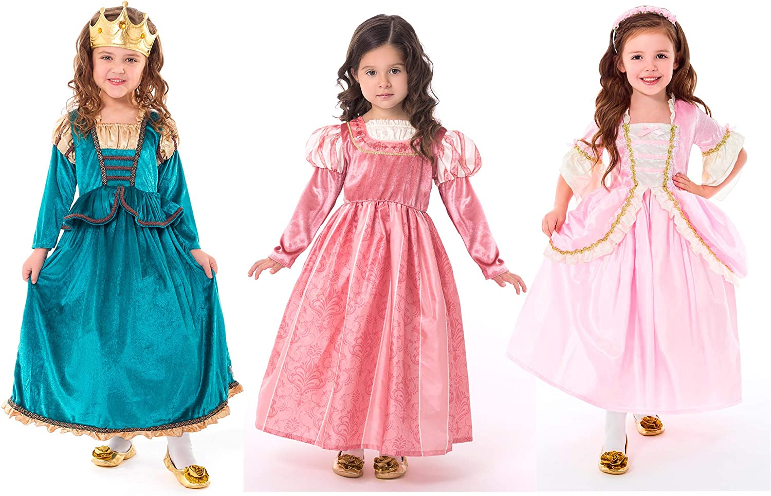 Small Age 1-3 Little Adventures Cinderella Day Dress Princess Dress Up Costume for Girls