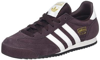 new styles c1c6c 0c5be adidas Dragon, Zapatillas de Deporte para Niños, Rojo  (Rojnoc Ftwbla Negbas), 36 2 3 EU  Amazon.es  Zapatos y complementos