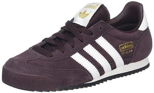 adidas Dragon, Zapatillas de Deporte para Niños, Rojo (Rojnoc/Ftwbla/Negbas), 36 2/3 EU: Amazon.es: Zapatos y complementos