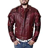 Mens Deadpool Jacket Superhero Motorcycle Style Biker Star Lord Jacket Costume Coat