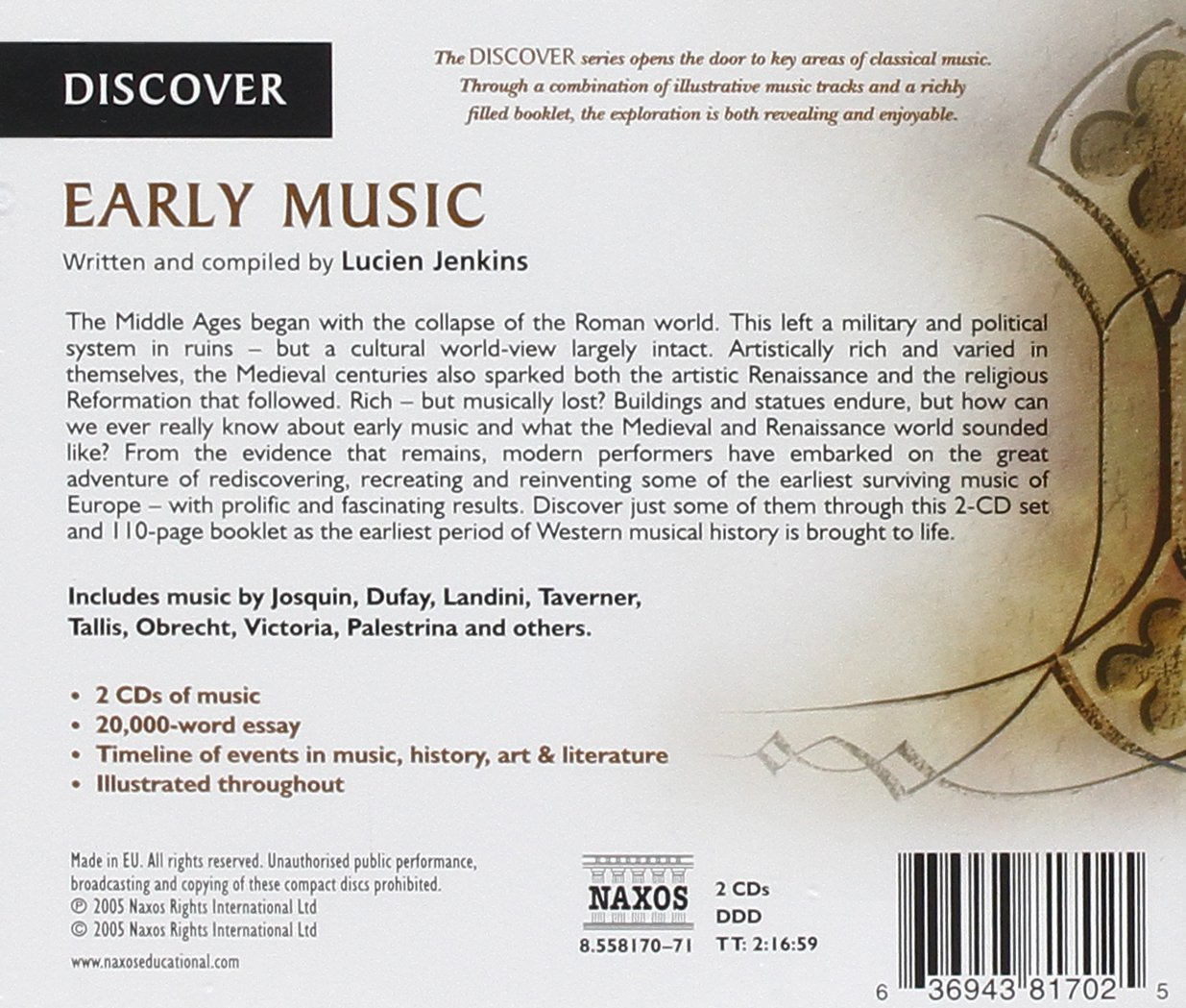 various artists early music com music
