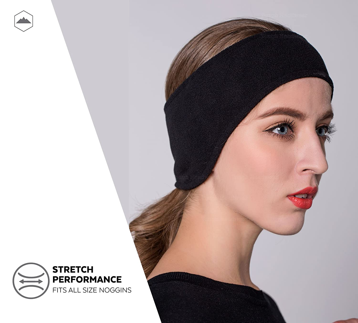 Fleece Ear Warmers Headband Sports Warm /& Cozy Winter Ear Covers Ideal for Running Cold Weather Ear Muffs Stretchy /& Thermal Polar Ear Band for Men /& Women Cycling /& Daily Wear