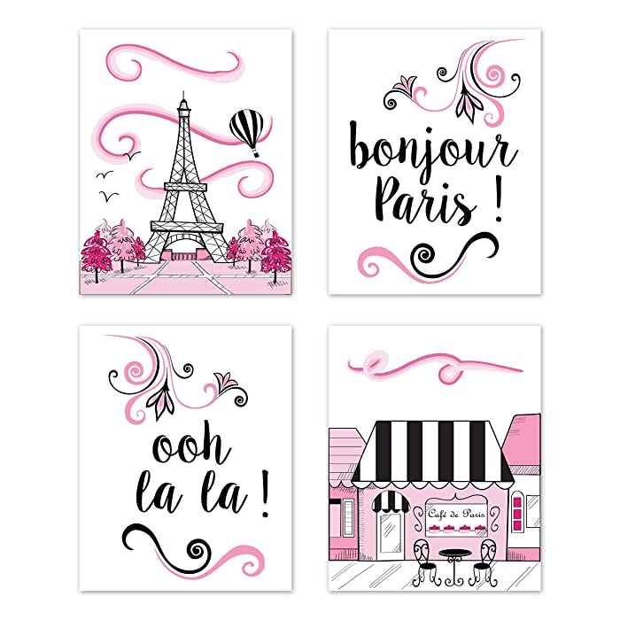 The Best Hot Pink Paris Decor For Bedroom