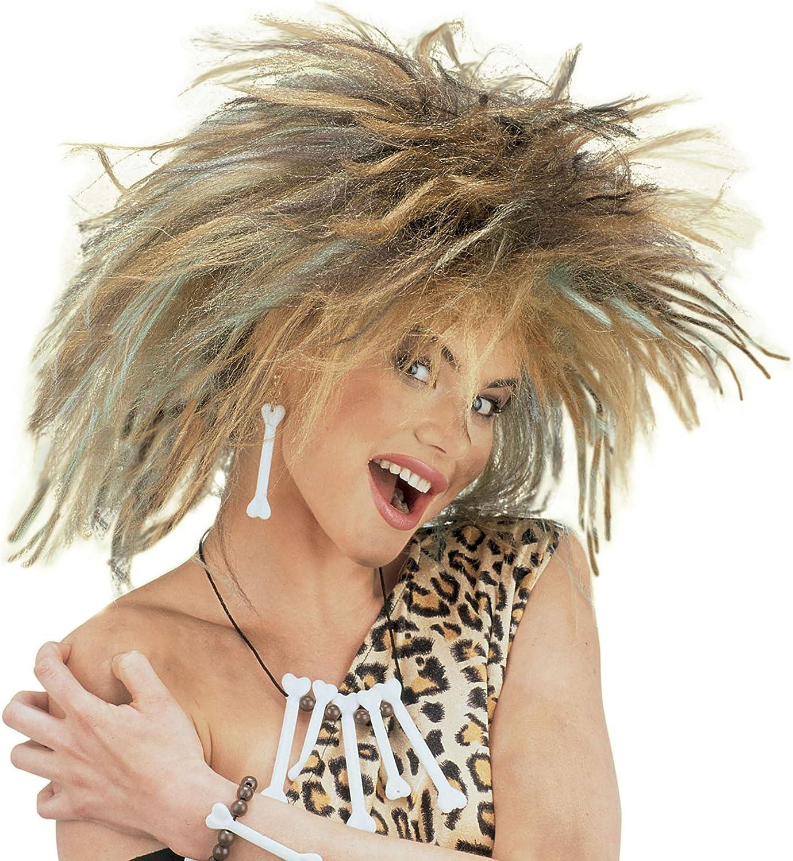 Modello Donna Delle Caverne Widmann Parrucca in Sacchetto