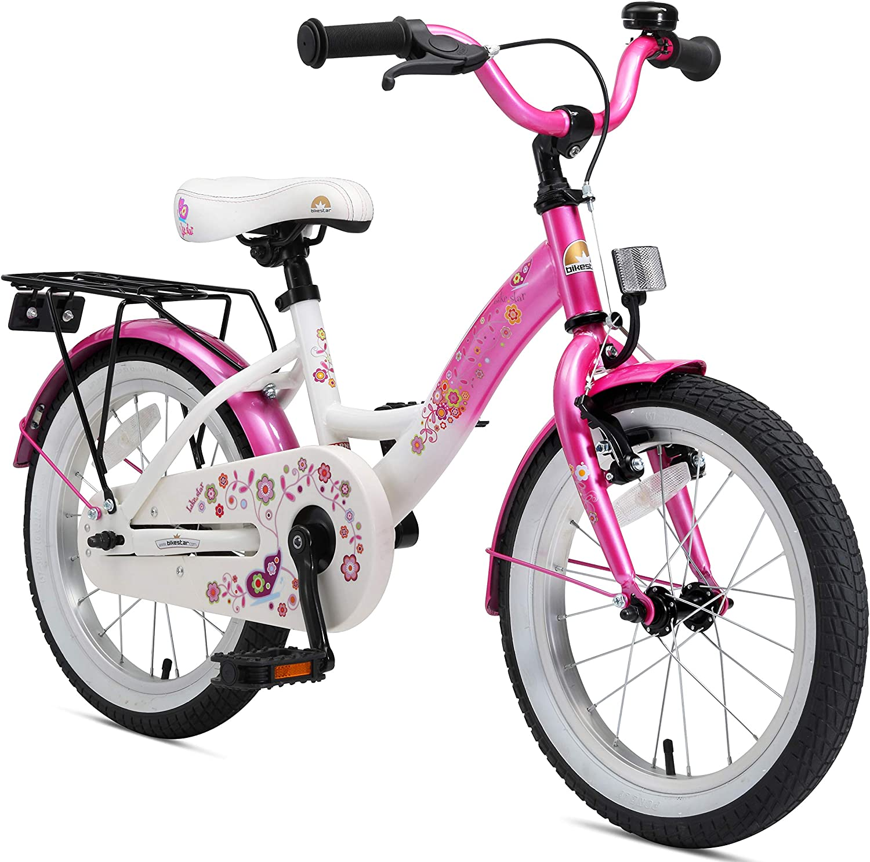 BIKESTAR Bicicleta Infantil para niños y niñas a Partir de 4 años | Bici 16 Pulgadas con Frenos | 16