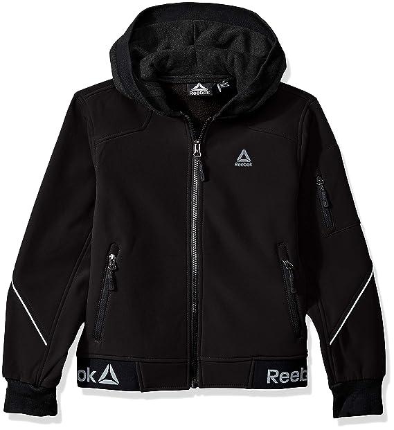 Reebok Boys Active Logo Hem Jacket