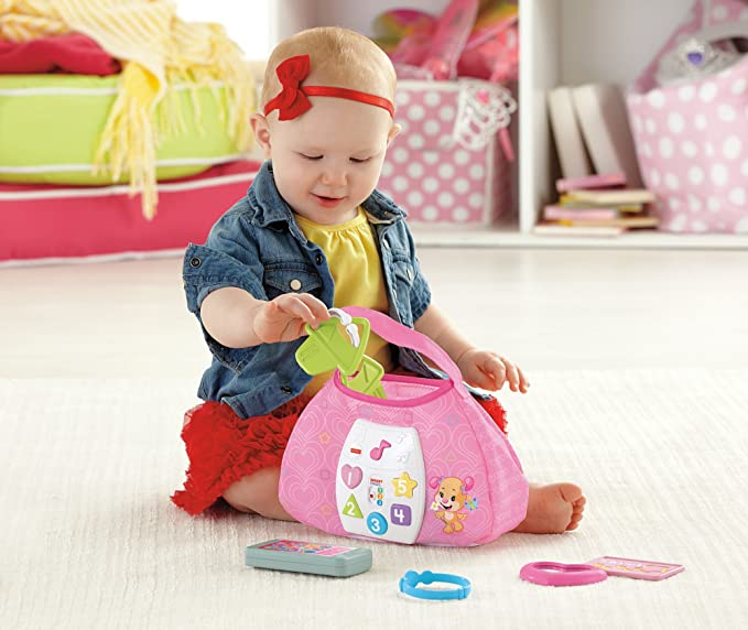 Fisher-Price Laugh & Learn Sis Smart Stages Purse by Fisher-Price