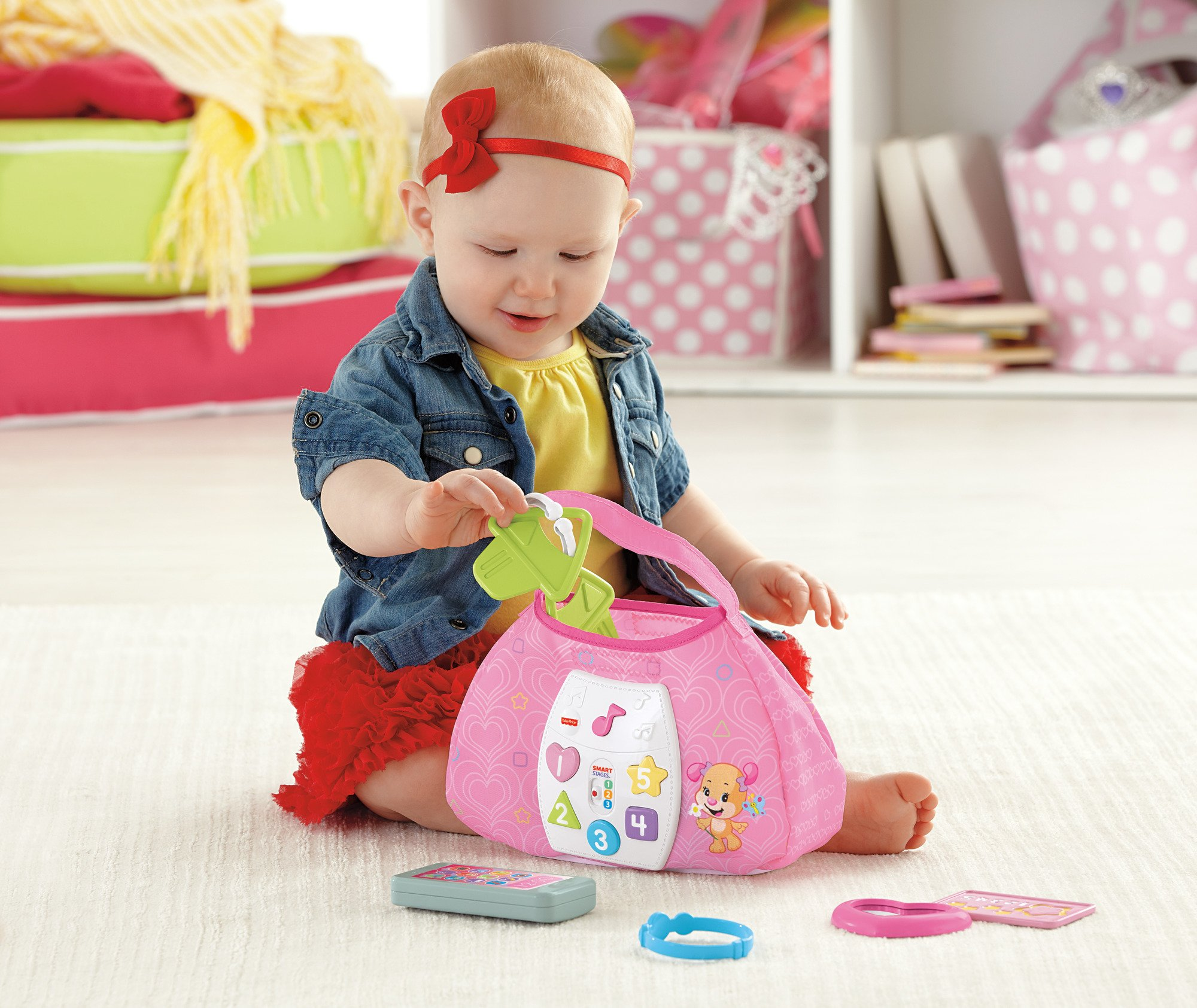 Fisher-Price Laugh & Learn Sis' Smart Stages Purse by Fisher-Price (Image #6)