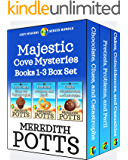 Majestic Cove Mysteries Books 1-3 Box Set