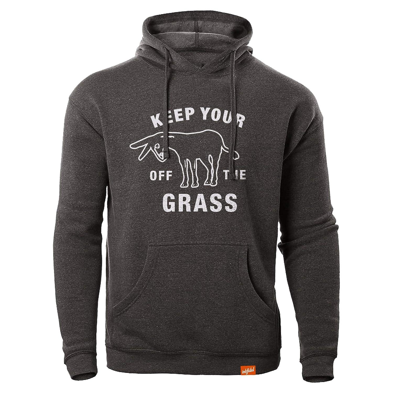 Inkfidel Keep Your Ass Off The Grass Hoodie T-Shirt Army USMC Marine Veteran