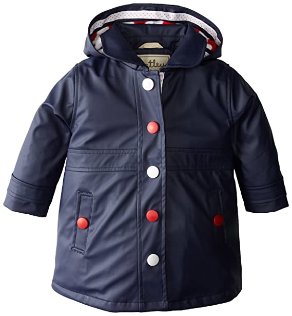 Hatchards, Piccadilly Girls Splash Jacket - Classic Navy - Chaqueta para niñas, Color Azul