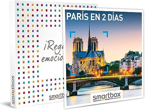 SMARTBOX - Caja Regalo - París en 2 días - Idea de Regalo - 1 Noche con Desayuno para 2 Personas: Amazon.es: Deportes y aire libre