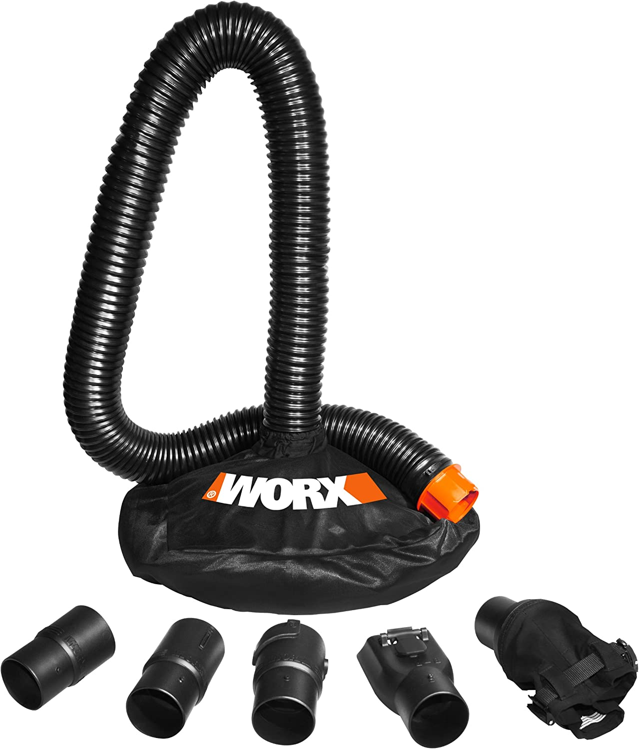 WORX WA4054.1 LeafPro Universal Fit Leaf Collection System for All Major Blower/Vac Brands