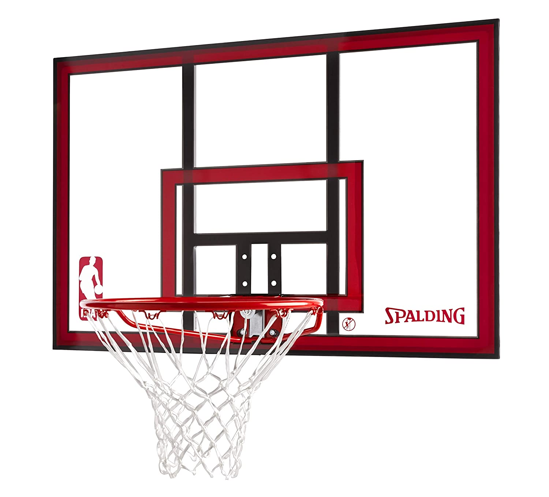 Spalding 79351 Wall-Mounted Basketball Hoop