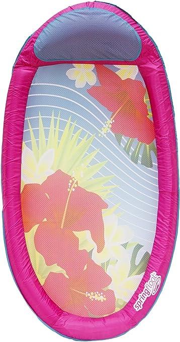 Image of SwimWays Spring Float Graphics Multicolor Colchón Flotante - Flotadores para Piscina y Playa (Multicolor, Colchón Flotante, 113 kg, 15 año(s), Niño/niña, China)