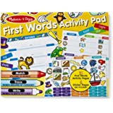 Melissa & Doug 30530 M&D - First Words Activity Pad Activity Book