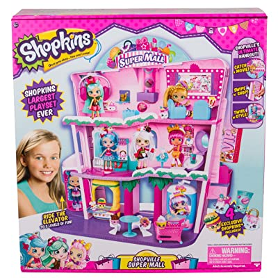 Shopkins Shoppies Shopville Super Mall: Toys & Games