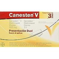 Canesten Crema V Dual 1%, 10 g, 1 Óvulo
