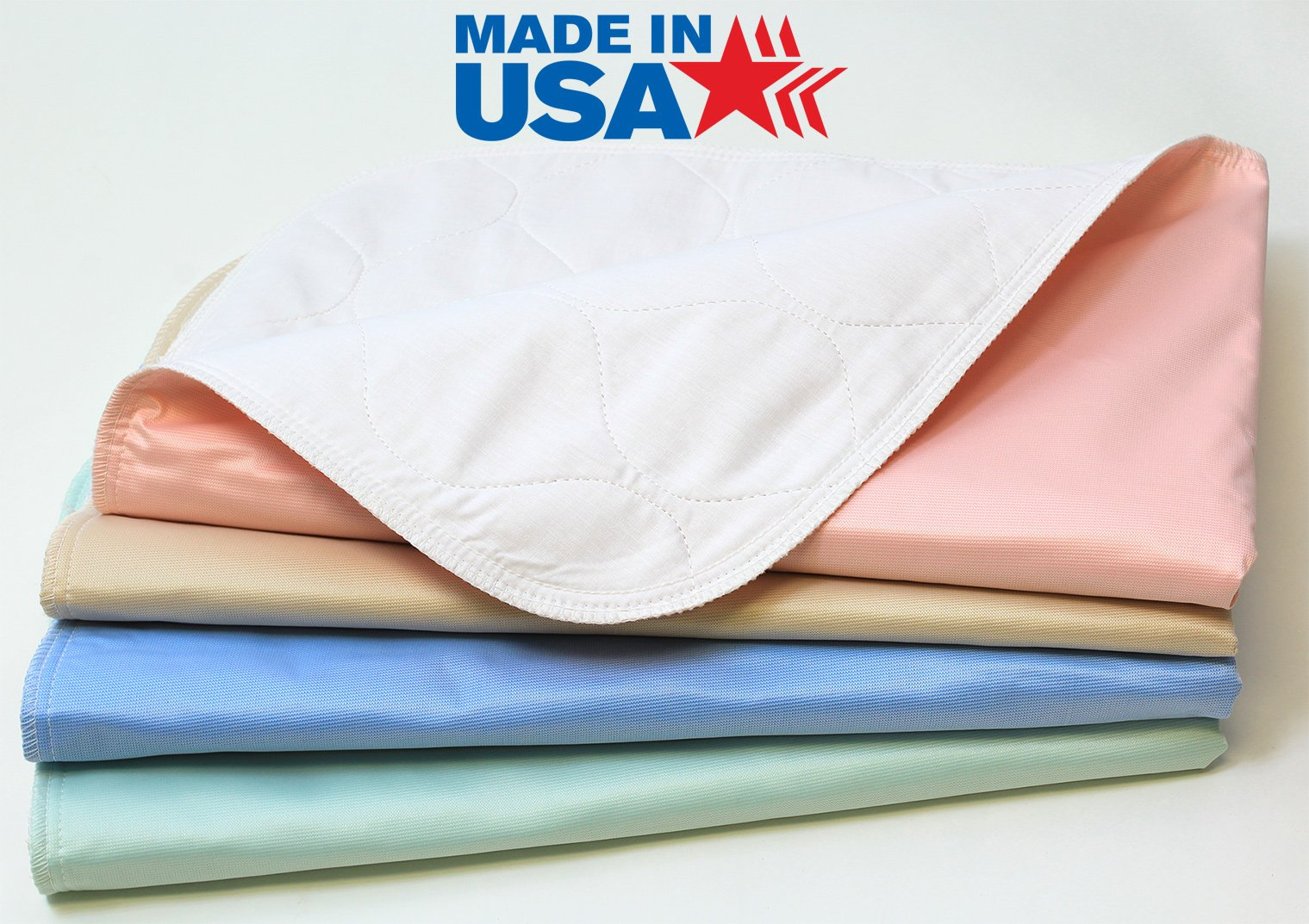 Washable Bed Pads / High Quality Waterproof Incontinence Underpad - 24x36 - 25 Pack - Reusable Wee Wee Pads