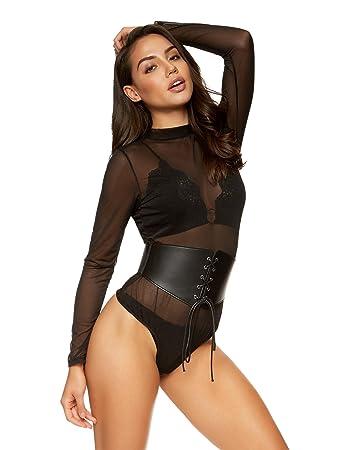 Sexy corset bondage