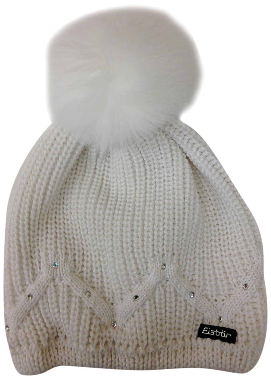 Eisbär Damen Mütze Kelsy Fur Crystal MÜ,408006